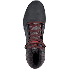 Salomon Utility CS WP Shoes Men black/black/red dahlia